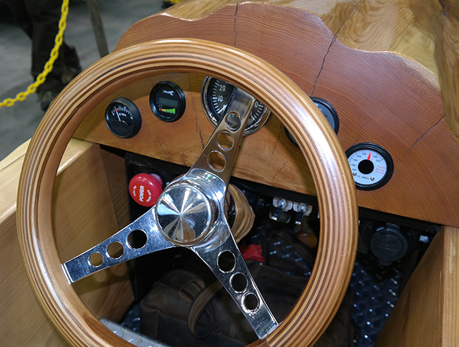 Pioneer Cedar Rocket Dashboard