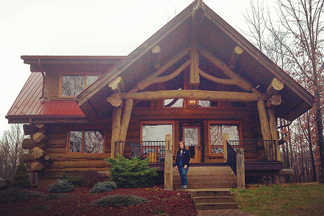 Pioneer Log Homes - Soaring Eagle